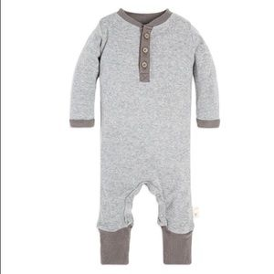 Other - Burts Bees Romper w Elbow Patches